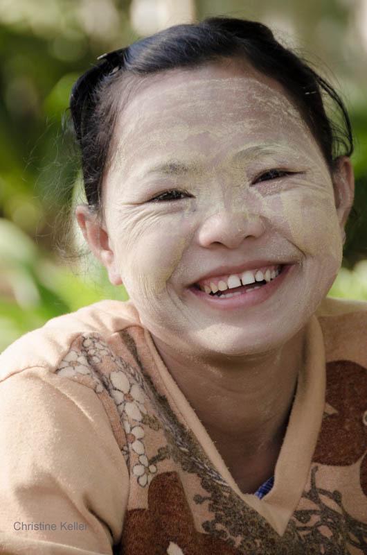 Carnet de voyage Birmanie  Beauté à la birmane