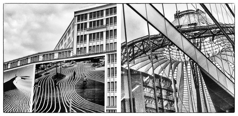 Jeux de lignes sur la Potsdamer Platz